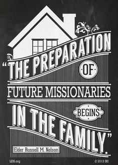 Create a mini-missionary training center in your home as you help your children prepare for future missions