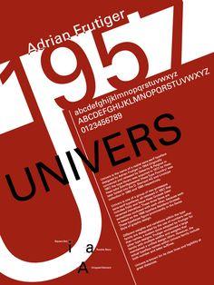 "KaraKreative: Typeface Review: ""Univers"" Jan. 29th, 2013"