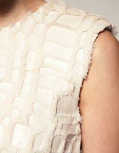 ASOS-Fur_Skater_Dress_Fabric_Detail love the pattern detail