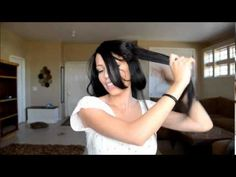 Victoria's Secret Inspired  Hair - Video Tutorial by Maskcara! wave, victoria secret, curl hair