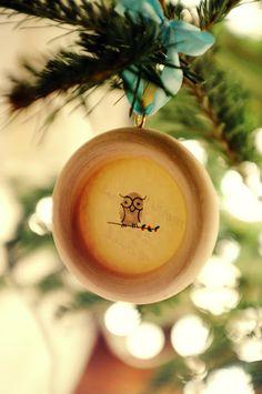 DIY Thumbprint / Fingerprint Ornaments