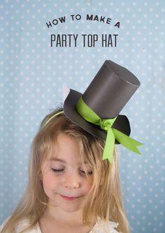 Make your own leprechaun hat!