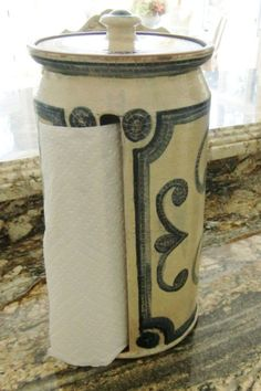 Paper towel holder.  Need.