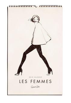 2015 Les Femmes Calendar- Anthropology