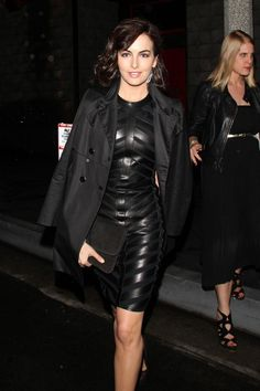 ♕ [ Camilla #Belle ] ★ #Leather ★ leaving Chi Lin Restaurant