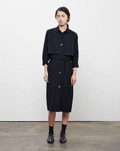 La Garçonne Moderne / Academie Trench Coat, Worn with: Maria La Rosa: Mid-Calf Silk Socks, Marsèll / Two-Tone Oxford #fw14