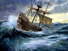 The Mayflower in Turbulent Waters
