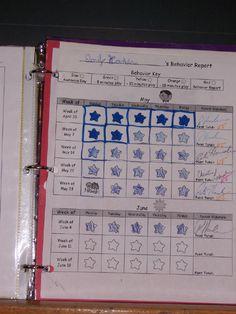 classroom behavior charts, book