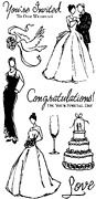 Wedding - Clear Rubber Stamps rubber stamp