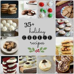 35+ Holiday Cookie Recipes