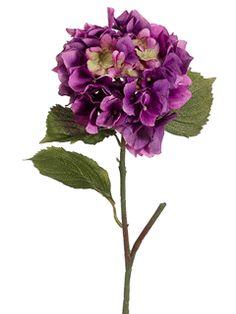 """Hydrangea in Orchid Purple- 23"""" Tall"""
