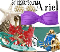 Ariel by disneybound