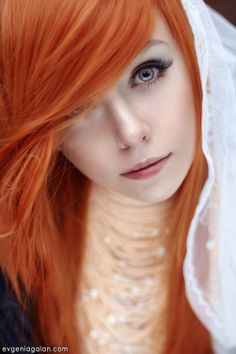Ginger by Evgenia Galan, via 500px.