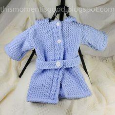 Loom Knit Baby Bathrobe PATTERN. Spa Quality by ThisMomentisGood idea temporari, needl work, hobbi project, spa qualiti, loom 18, loom knit