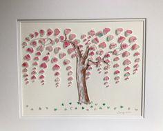 Original Weeping Heart Tree 16x20 3D Paper Art by TimelessDelight  Lovely.