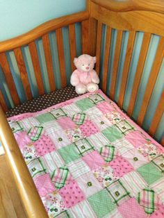 Soft John Deere Pink Quilt