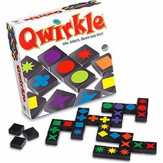 Qwirkle -  a quick-moving game of fun. Qwirkle combines the action of games like Scrabble, dominoes and SET, throw in quick thinking, strategy and high excitement - and you've got Qwirkle.