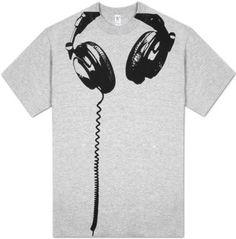 headphones TEES SHIRTS