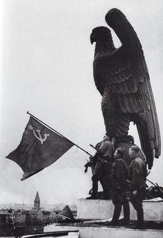Berlin falls to the Soviets