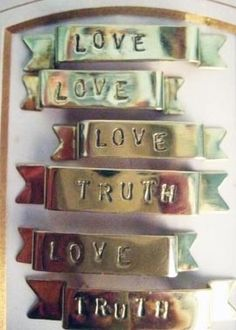 tattoo style brooches. Lux and Love