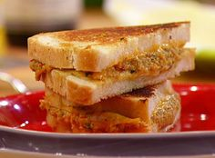 Grilled Deviled Ham and Cheese