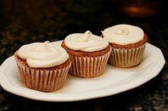 Spice Apple Caramel Cupcakes