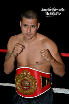 Jose Felix- Middleweight WBO Champion by Jennifer Burroughs Photography