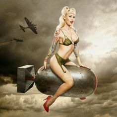 Military pin up (: