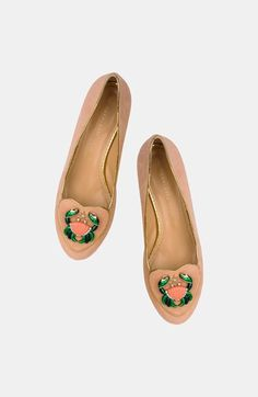 It's a sign. Charlotte Olympia Zodiac Inspired Flats.