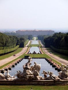 Caserta near Naples in Italy