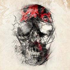 Negative Skull by ART-BY-DOC on deviantART