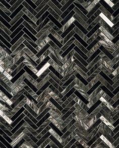 Obsidian tile by Ann Sacks