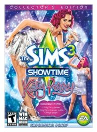 The Sims 3 Showtime Katy Perry edition.