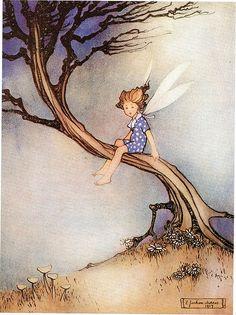 E. Jackson Morris fairy by peacay
