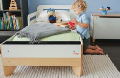 P'kolino finally makes a gorgeous modern toddler bed that's actually affordable