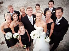 Darin Fong Photography- Black and White Wedding