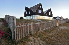 Dune House by Jarmund/Vigsnæs AS Architects in architecture  Category angles, architects, dune hous, bathtubs, pitch black, bathrooms, architecture, apartments, architectur inspir