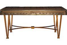 Louis Vuitton Steamer Trunk Coffee Table