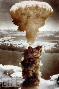 On August 9, 1945, the mushroom cloud of the second atomic bomb ever used in warfare rose over Nagasaki, Japan.