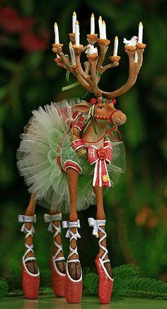 Krinkles by Patience Brewster Dashaway Dancer Figure