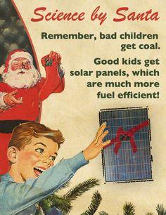 Solar panels... for Christmas!