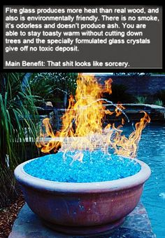 Fire Glass : Ultimate Cool Stuff for Heating . Check webpage for more info