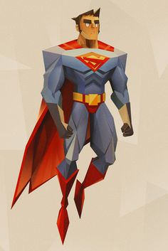 ArtStation - Superman, Armando Lira López