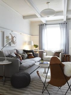 Wonderful Mongolian Sheepskin Pillows And Rugs: Eclectic Living Room Kilim Pillows And Ikea Rug Mongolian Throw Large Side Table In Back Corner Small Side Table ~ arkoop.com Furniture Inspiration