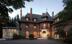 Crow's Nest/Lindley Hall - Tuxedo Park, NY http://www.townrealestate.com/sale/id-302340/23-Crows-Nest-Road-Out-of-Town