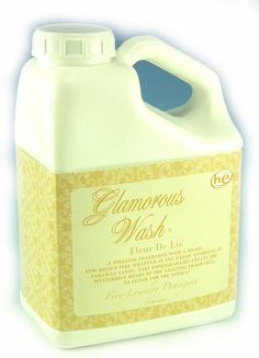 FLEUR DE LIS Glamorous Wash 128 oz (Gallon) Fine Laundry Detergent by Tyler Candles.FLEUR DE LIS is a timeless fragrance with a heady, sun-kissed feel wrapped in the exotic lushness of faraway lands. Tart pomegranates create the mysterious heart of the amazing fragrance. An elixir for the senses! Try All of Tyler Candles'  fragranced products including: Scented Jar Candles, Mixer Melts, Room Sprays, Fragrance Lamp Oils, Reed Diffuser Oils, Hand Lotion, Hand Wash, Glamorous Wash Laundry Deterg...