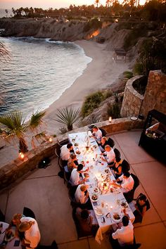 a gorgeous wedding at Esperanza complete with stunning views of the Sea of Cortez    www.esperanzaresort.com