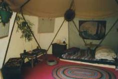 Interior of the Yome from redskyshelters.com