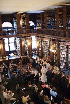 Library ceremony
