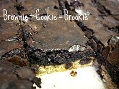 BROOKIES on Pinterest | Brownie Cookies, Brownie Batter and Cookie Br ...